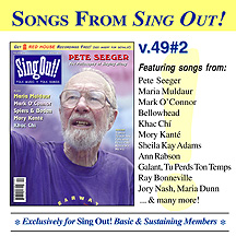 CD art for Sing Out! V.49#2: Pete Seeger, Maria Muldaur, Mark O'Connor, Khac Chi, Spiers & Boden, Mory Kante