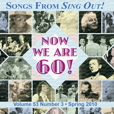 CD art for Sing Out! V.53#3: Loudon Wainwright III, Robert Burns, Afghan Children's Songs, Hot Club of Cowtown, Girlyman, Chris Wood