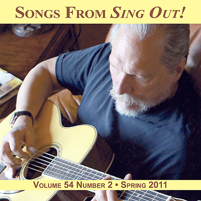 CD art for Sing Out! V.54#2: Jorma Kaukonen, Jody Stecher & Kate Brislin, Tim Ericksen, Debbie Lan & Grenadilla, Atwood Family Songs, Arhoolie's 50th Anniversary, and Lucy Wainwright Roche