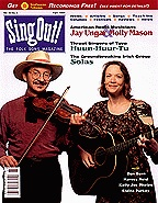 Sing Out! V.42#2: Jay Ungar and Molly Mason, Huun-Huur-Tu, Solas, Dan Bern, Harvey Reid, Kelly Joe Phelps, Elaine Purkey