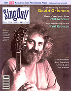 Sing Out! V.42#4: David Grisman, Paul Geremia, Paul Geremia, Stephen Wade, Lucy Kaplansky, Jones and Leva, Dar Williams