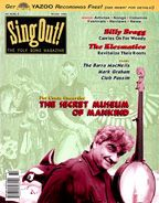 Sing Out! V.43#3: Pat Conte and the Secret Museum of Mankind, The Klezmatics, Billy Bragg, Club Passim, Mark Graham, The Barra-MacNeills