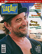 Sing Out! V.46#4: Greg Brown, Francis James Child, Bob Brozman, Kim & Reggie Harris, Jez Lowe, Czokolom
