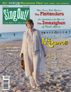 Sing Out! V.47#1: The Flatlanders, Liz Carroll, Music of the Imazighen, Vance Gilbert, The Mammals, Tama