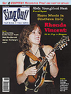 Sing Out! V.47#2: Rhonda Vincent, Alvin Youngblood Hart, Roots Music in Southern Italy, Rod MacDonald, Harv, Sharon Katz & the Peace Train