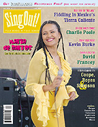 Sing Out! V.49#3: Maria de Barros, Kevin Burke, David Francey, Charlie Poole, Music from Tierra Caliente, Coope, Boyes & Simpson