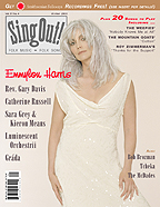Sing Out! V.51#4: Sara Grey & Kieron Means, Gráda, Emmylou Harris, Luminescent Orchestrii, Catherine Russell, Reverend Gary Davis, Bob Brozman, Tcheka, and The McDades