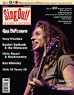 Sing Out! V.52#1: Ani DiFranco, Tony Trischka, Chris Stuart & Backcountry, Ken Whiteley, Rachel Unthank & The Winterset, Club 47, Genticorum, Tanya Tagaq, and John Flynn