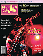 Sing Out! V.52#3: Desert Blues, Danny Kalb, Punch Brothers, Magpie, Boiled in Lead, The Center for Traditional Music & Dance, Denice Franke, Saba and William Jackson