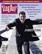 Sing Out! V.54#1: Johnny Clegg, Brian MacNeil, Blind Willie Johnson, Joy Kills Sorrow, Esma, and GangstaGrass