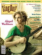 Sing Out! V.54#4: Abigail Washburn, Brian Peters, Hazmat Modine, Spuyten Duyvil, Dan Bern, Mickey Hart, Joe Crookston & Frank Fairfield